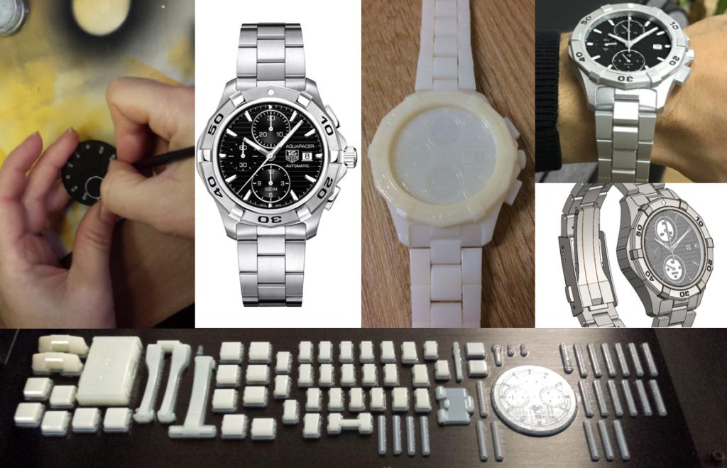 prototype de montre horlogerie