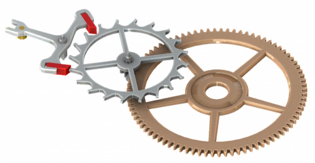 modèle d'imprimé 3D horlogerie
